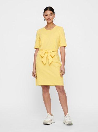 Žluté šaty VERO MODA Alex