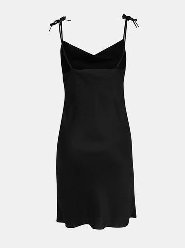 Černé šaty na ramínka Miss Selfridge