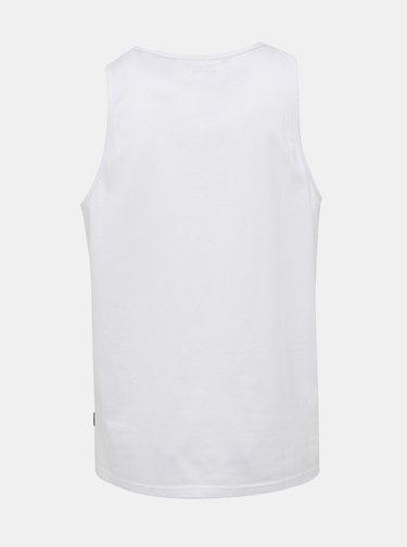 Biele basic tielko Burton Menswear London