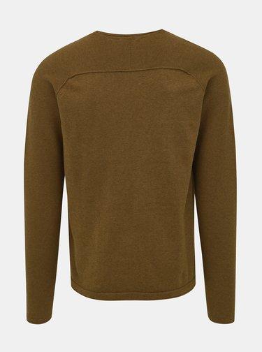 Hnedý sveter Selected Homme Carter