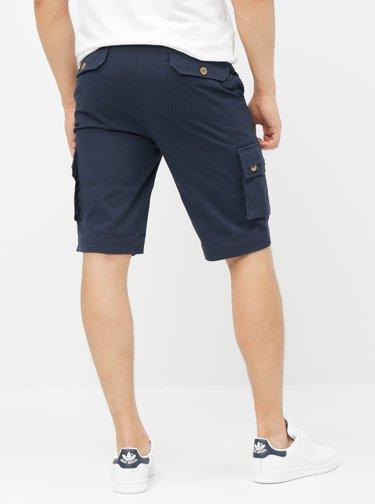 Pantaloni scurti albastru inchis cu buzunare Raging Bull