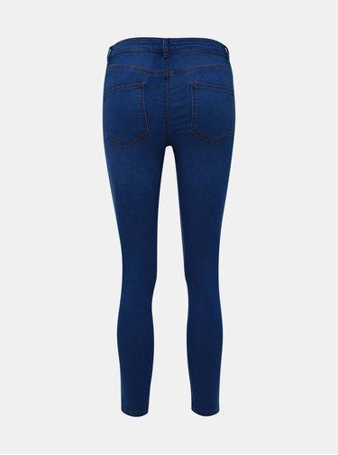 Modré skinny fit džíny Dorothy Perkins Petite Bailey