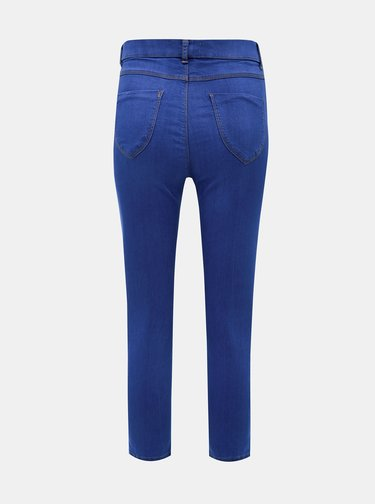 Modré 3/4 jeggings Dorothy Perkins Tall