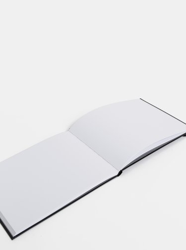 Černý zápisník Design Letters Sketch Book