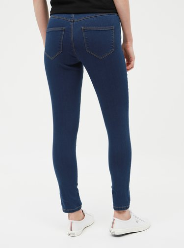 Blugi albastru inchis skinny fit Dorothy Perkins Petite Ashley
