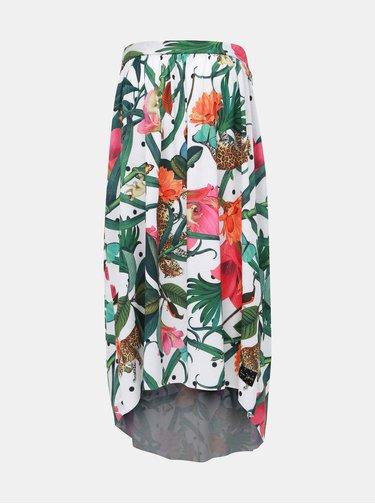 Zeleno-bílé květované šaty/sukně Femi Stories Haiti