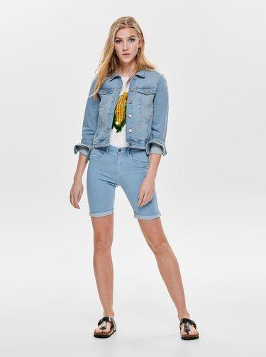 Světle modrá džínová bunda ONLY Tia