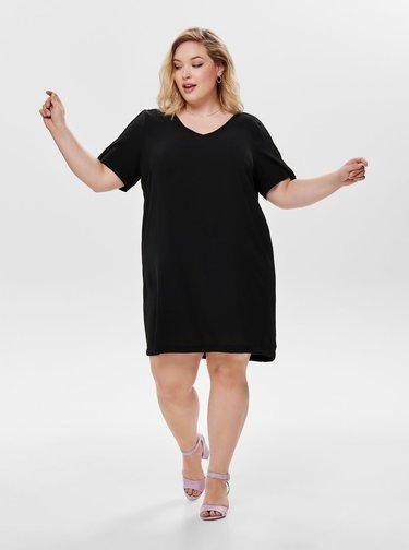 Čierne šaty ONLY CARMAKOMA Lux
