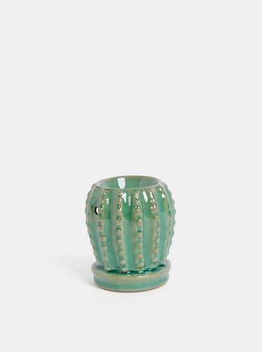 Zelená aromalampa v tvare kaktusu SIFCON
