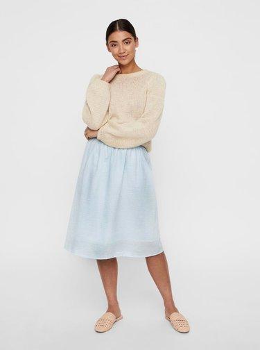 Modrá pruhovaná sukňa VERO MODA Jane