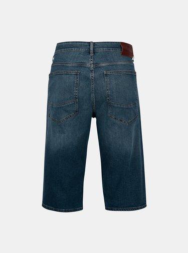 Modré pánské regular džínové kraťasy Cross Jeans