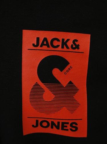 Čierna mikina s potlačou Jack & Jones Lee