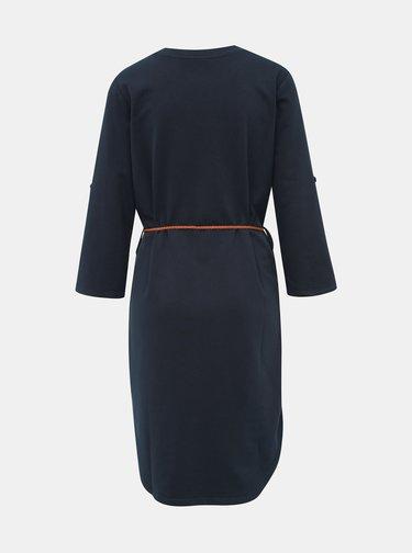 Tmavomodré mikinové šaty Jacqueline de Yong Ivy