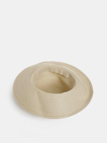 Krémový slaměný klobouk Dorothy Perkins