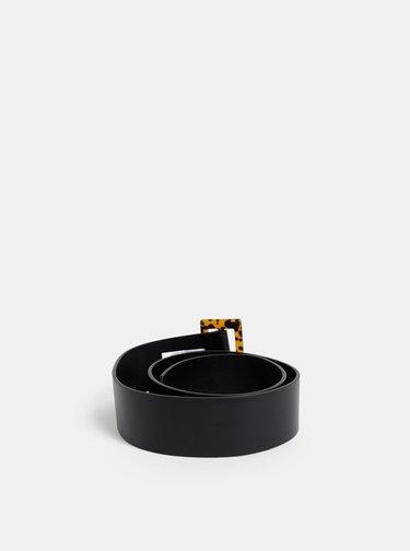 Černý pásek se vzorovanou sponou Dorothy Perkins