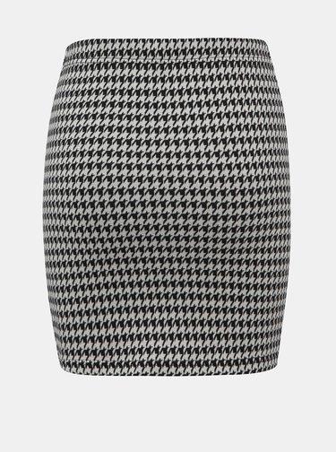 Šedá vzorovaná púzdrová sukňa ONLY Vigga