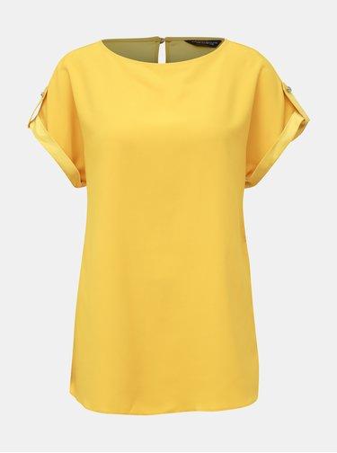 Žltá blúzka Dorothy Perkins