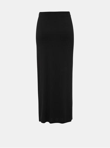 Čierna basic maxi sukňa Dorothy Perkins