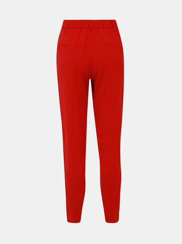 Červené kalhoty Selected Femme Carla