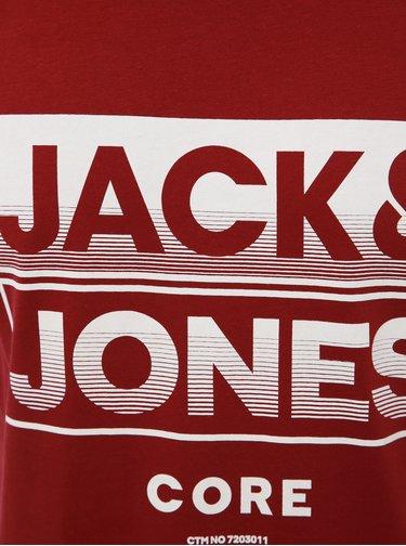 Vínové tílko s potiskem Jack & Jones Lee