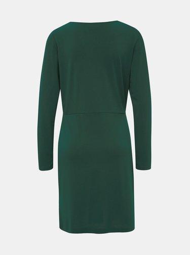 Tmavozelené šaty VILA Classy