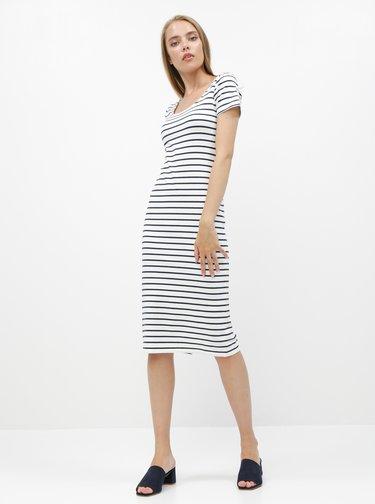 Modro-biele pruhované basic šaty ZOOT Junne