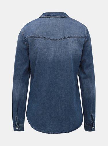 Modrá rifľová košeľa VERO MODA Maria
