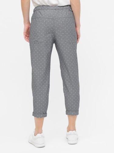 Pantaloni gri de dama cu model Maloja Uina