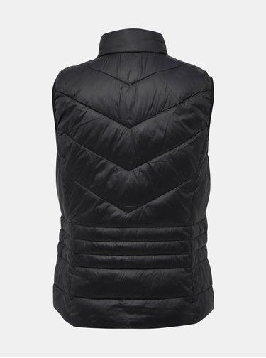 Čierna prešívaná vesta VERO MODA Soraya