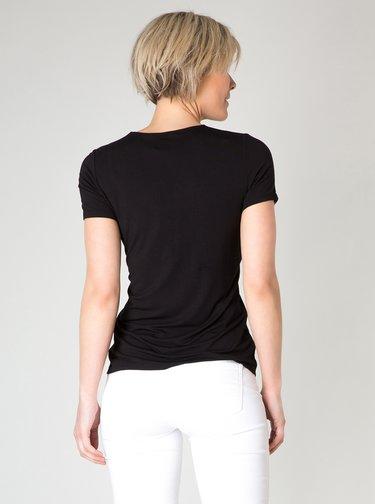 Černé tričko Yest