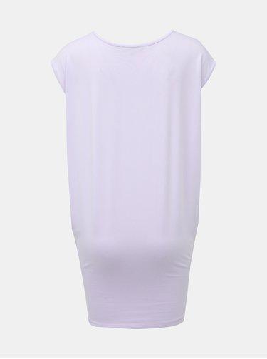 Svetlofialové dlhé tričko Yest