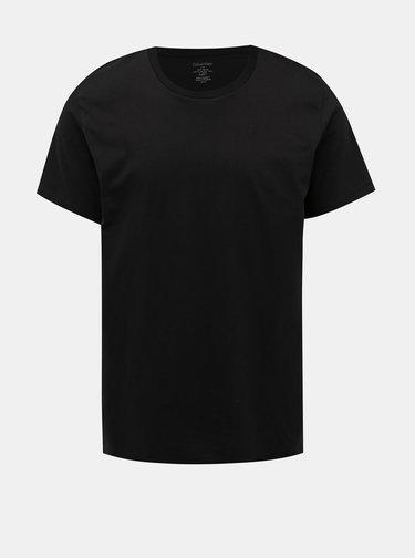 Sada dvoch pánskych tričiek pod košeľu v čiernej farbe Calvin Klein Underwear