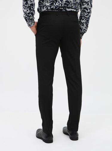 Čierne formálne skinny nohavice Burton Menswear London