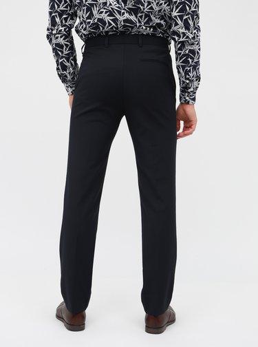 Pantaloni bleumarin slim fit de costum -  Burton Menswear London