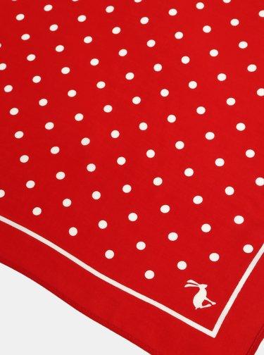 Červený puntíkovaný šátek Tom Joule Tiewell