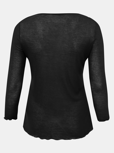 Černé tričko ONLY CARMAKOMA Soft