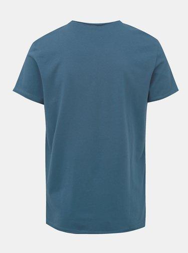 Modré tričko s kapsou Blend