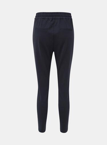 Tmavě modré kalhoty VERO MODA Eva