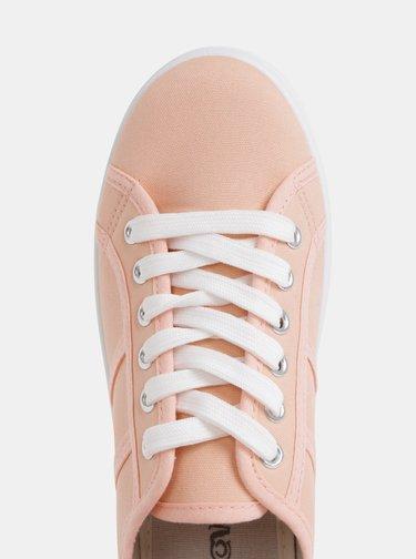 Rúžové dámske tenisky na platforme Haily´s Pina