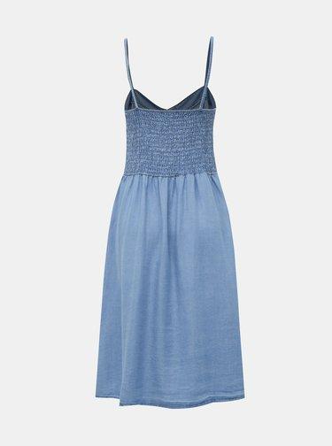 Modré džínové šaty Haily´s Carly