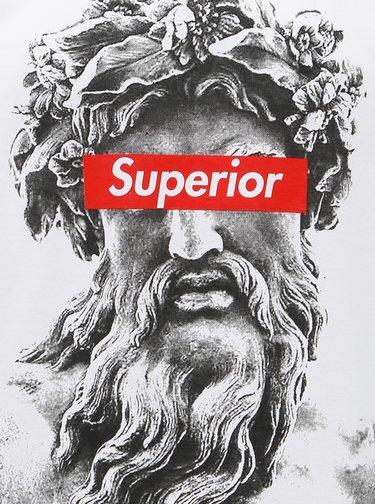 Bílé pánské tričko Haily´s Superior Roman