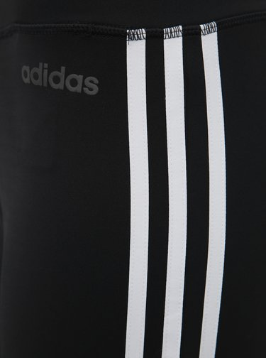 Čierne dámske 3/4 legíny adidas CORE