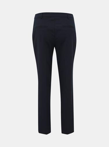 Tmavomodré skrátené nohavice Dorothy Perkins