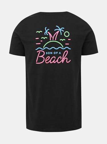 Čierne pánske tričko ZOOT Original Son of a beach