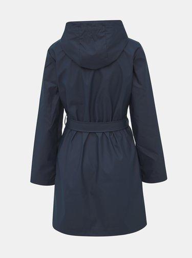 Tmavomodrý vodeodolný kabát Dorothy Perkins