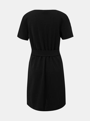 Čierne šaty VERO MODA Charlot