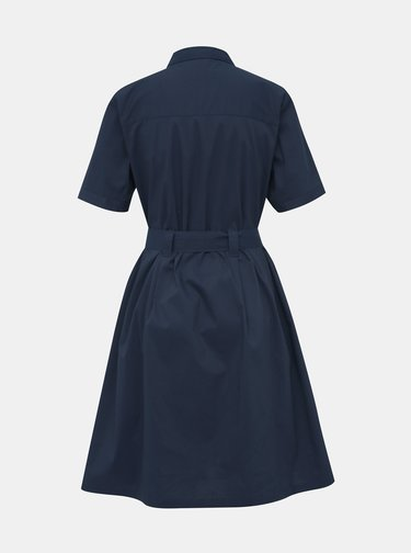 Tmavě modré košilové šaty Jacqueline de Yong Millie