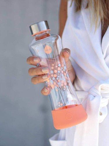 Sticla cu print copac EQUA SQUEEZE (550 ml)
