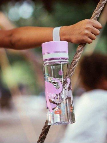 Plastová láhev s motivem slonů EQUA 400 ml
