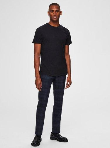 Čierne basic tričko Selected Homme Ben